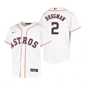 Youth Houston Astros #2 Alex Bregman Jersey
